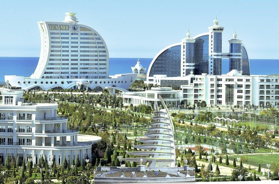 мощная туркменбаши отель фото внутренняя