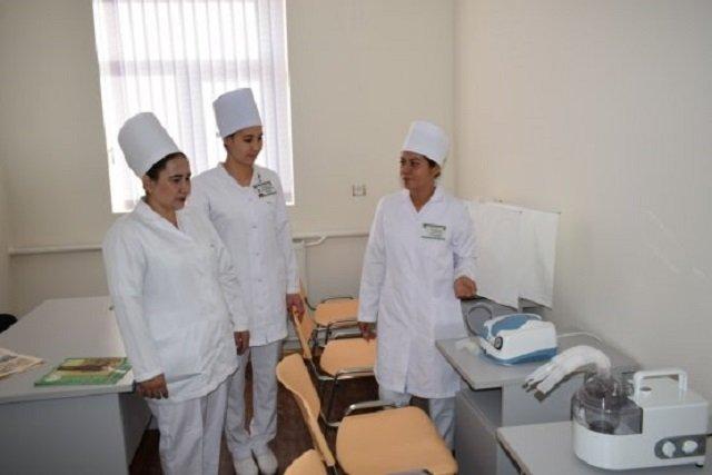 В Дашогузском велаяте реконструировали здание Дома здоровья