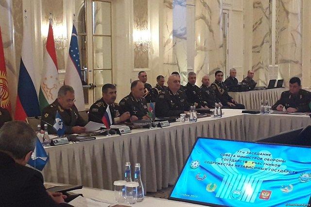 В Баку прошло заседание Совета министров обороны стран-участниц СНГ