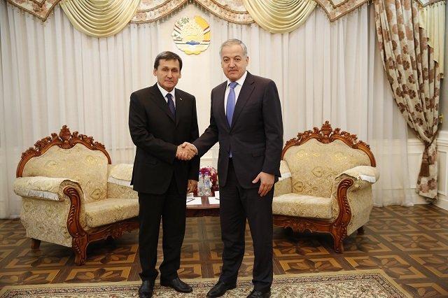 Таджикистан провёл политконсультации с Туркменистаном