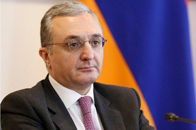 Глава МИД Армении посетит Швецию с рабочим визитом