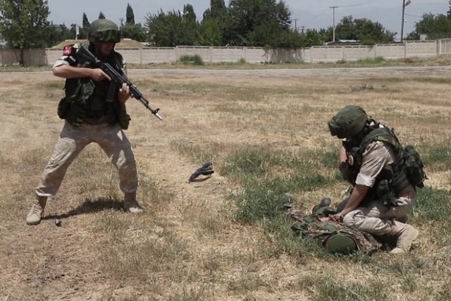 В Таджикистане ликвидировали 15 боевиков при нападении на погранзаставу