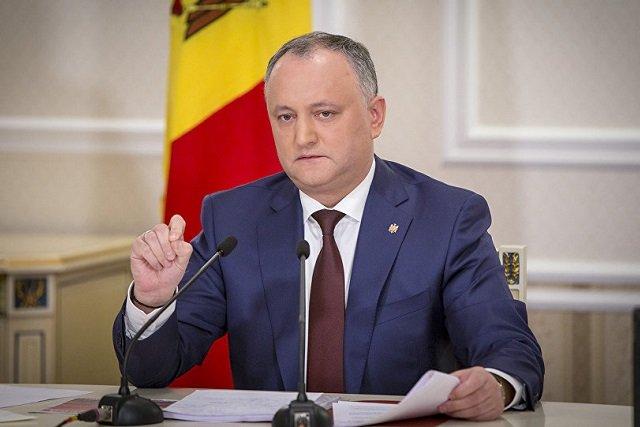 Додон предложил кандидатуру Иона Кику на пост премьера Молдовы