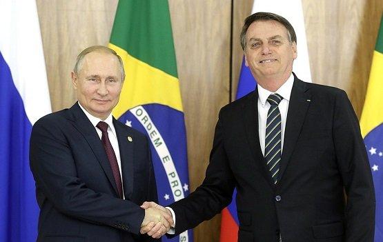 Россия представляет интерес для Бразилии, считает Путин