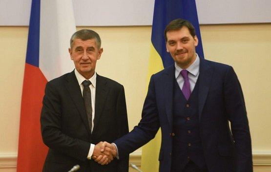 Премьер Украины дал обещание чешским бизнесменам