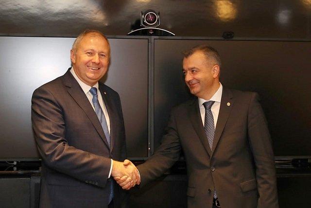 Молдова и Беларусь обсудили активизацию сотрудничества