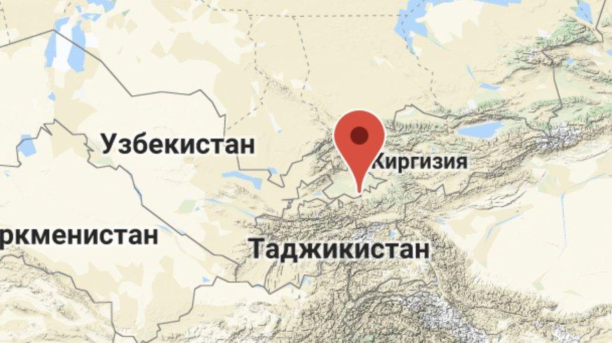 В 254 км от Ташкента произошли подземные толчки незначительной силы