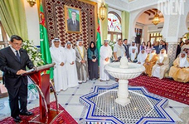 Генконсульство Туркменистана открылось в Дубае
