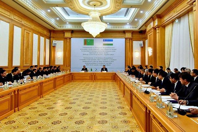 В Ашхабаде прошло заседание туркмено-узбекской межправкомисии