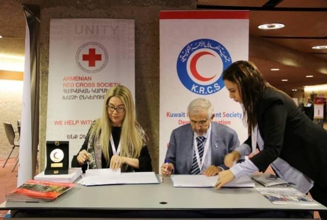 Армянское общество Красного креста поможет сирийским беженцам