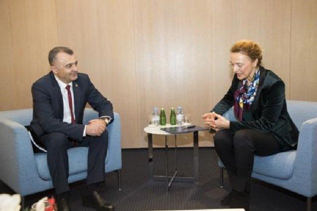 Состоялась встреча премьера Молдовы с Генсеком Совета Европы