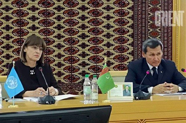 Ашхабад и ООН приняли программу по улучшению социальной защиты граждан
