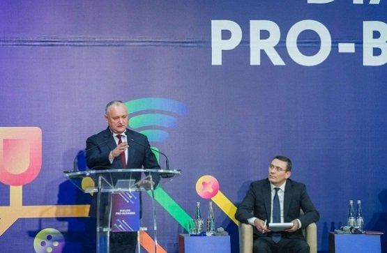 Помогать бизнесу и развивать экономику Молдовы – Додон рассказал о 5 инициативах