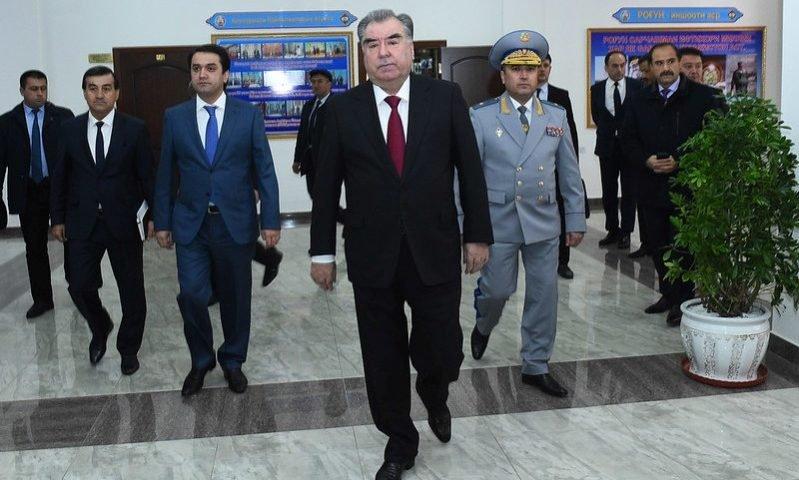 Президент Таджикистана открыл новое здание Агентства по борьбе с коррупцией