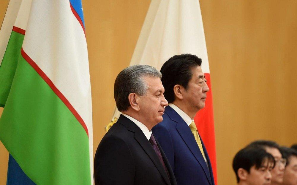 Состоялись переговоры на высшем уровне между Узбекистаном и Японией