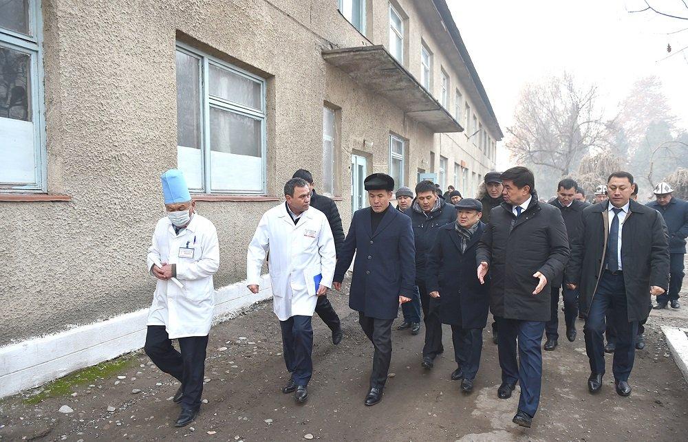 В регионах Киргизии построят новые школы и больницы