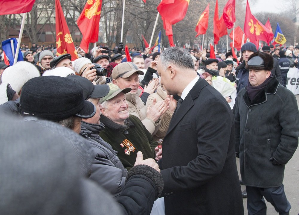 Игорь Додон – три года руководства страной