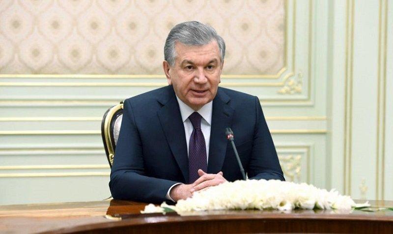 Президент Узбекистана встретился с исполнительным секретарем СНГ
