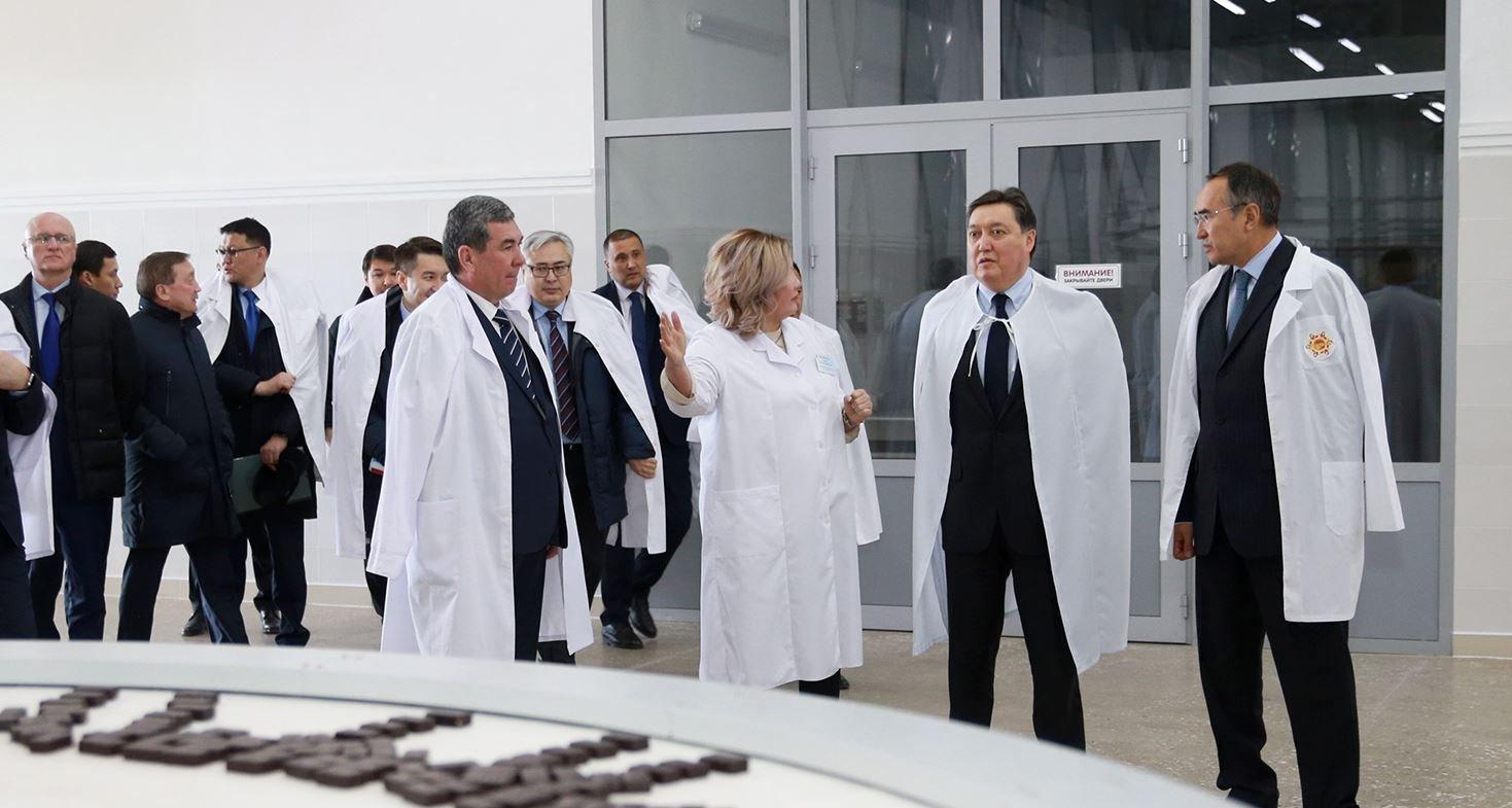 Премьер-министр Казахстана посетил Жамбылскую область с рабочим визитом