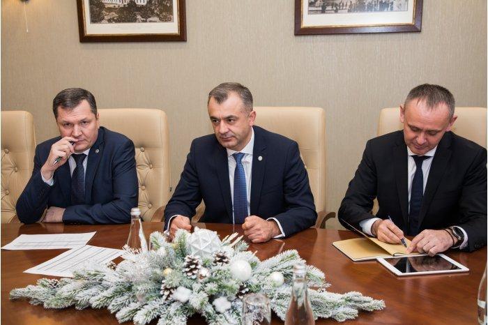 Премьер-министр Молдовы провёл встречу с послом Франции