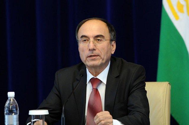 Вице-премьер Таджикистана Иброхим  осмотрел строительство автодороги Душанбе-Бохтар