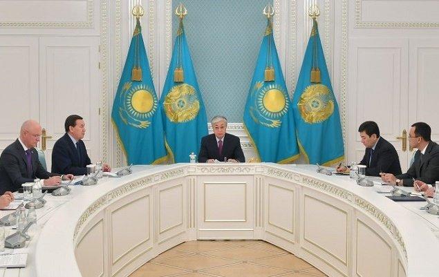 Президент Казахстана встретился с военно-силовым блоком страны в связи ситуацией на Ближнем Востоке