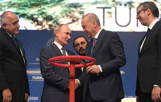 Владимир Путин: «Турецкий поток» укрепит энергетическую безопасность Европы