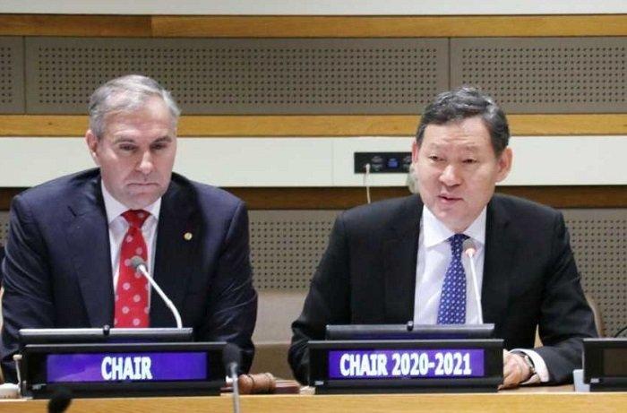 Казахстан возглавил Группу развивающихся стран, не имеющих выхода к морю