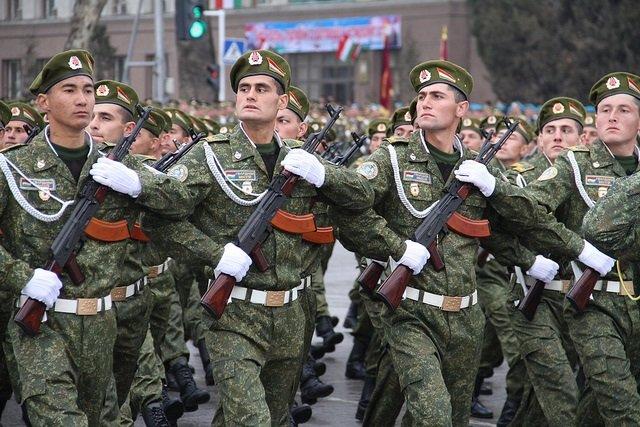Военные Таджикистана пройдут по Красной площади на параде 9 мая в Москве