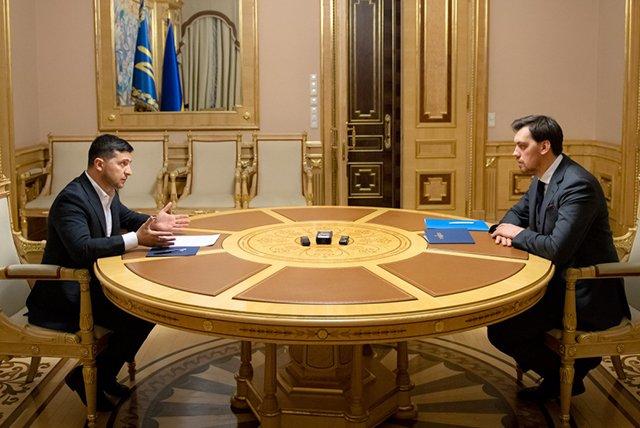 Зеленский не принял отставку премьер-министра Украины