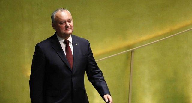 Игорь Додон и граждане Молдовы окунулись в крещенские проруби