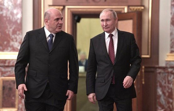Заслуги прежнего состава Правительства России назвал Владимир Путин