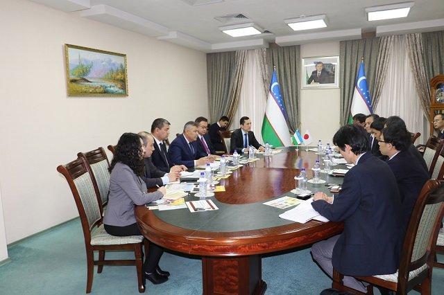 Узбекистан и Япония обсудили развитие партнёрства