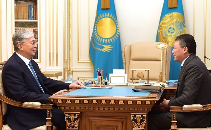 Президент Казахстана ознакомился с положением дел в предпринимательской сфере