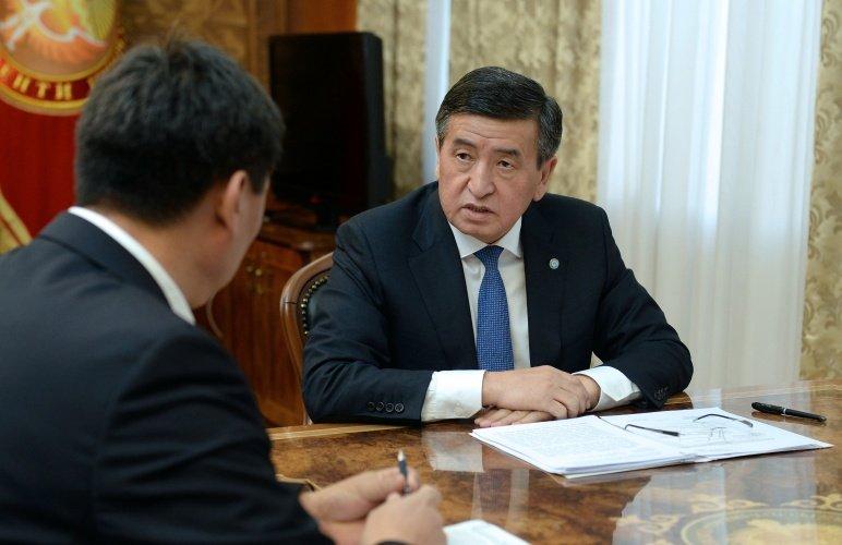 Президент Киргизии ознакомился с ходом реализации государственных программ в социальной отрасли