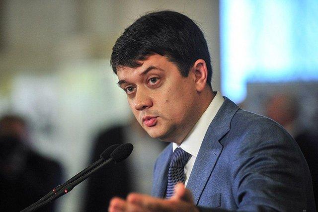 Председатель Верховной Рады заявил о необходимости доработки законопроекта о медиа