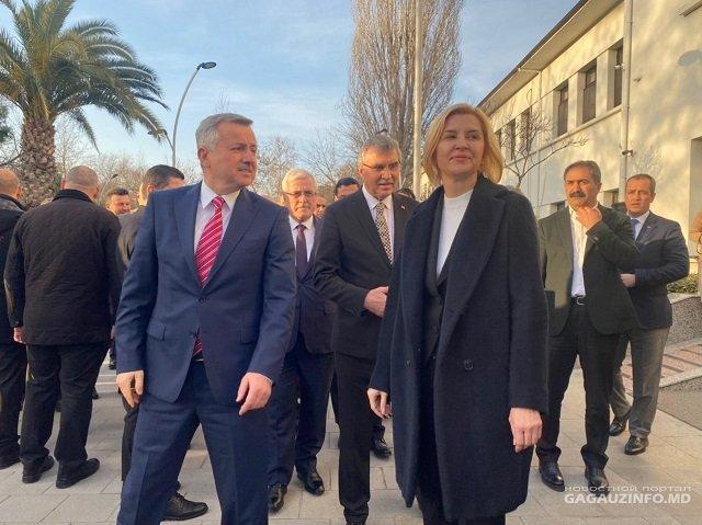 Глава Гагаузии встретилась с мэром турецкого региона Сакарья