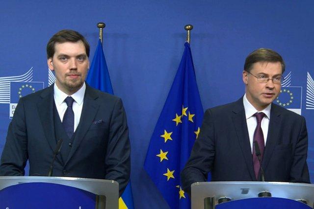 Премьер Украины заявил о выполнении государством всех условий для получения 500 млн евро от ЕС