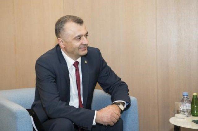 Премьер Молдовы принял участие в открытии национальной выставки «Сделано в Молдове 2020»