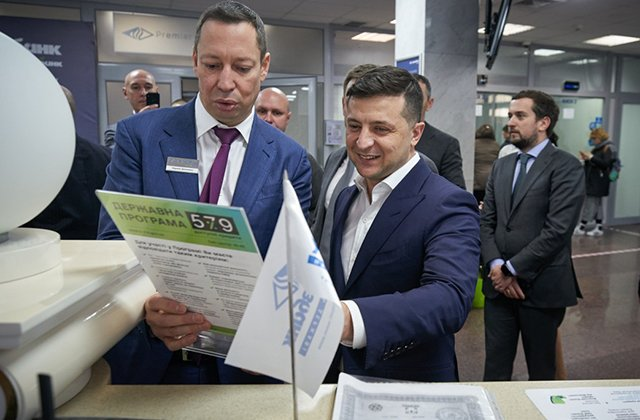 Президент Украины проверил работу программы «Доступные кредиты 5-7-9%»