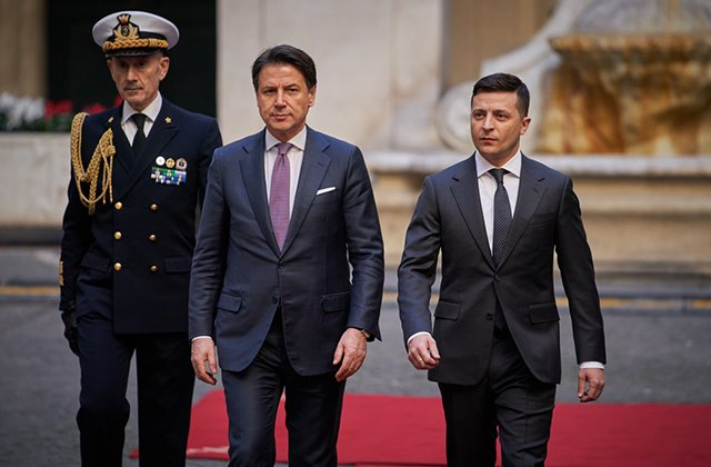 Владимир Зеленский призвал премьера Италии развивать сотрудничество