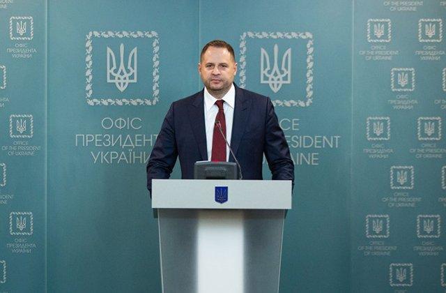 Глава офиса президента Украины Ермак назвал приоритеты в своей работе