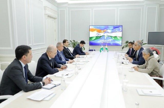 Состоялась встреча хокима Ташкента с послом Индии в Узбекистане