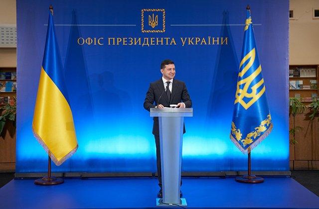 Молодые украинские ученые получили почетные награды от Зеленского