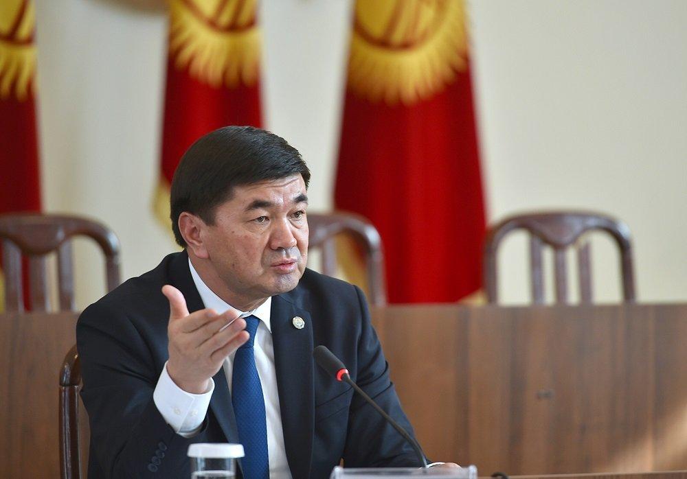 Премьер-министр Киргизии: сдвиги в социальной сфере зависят от экономического развития