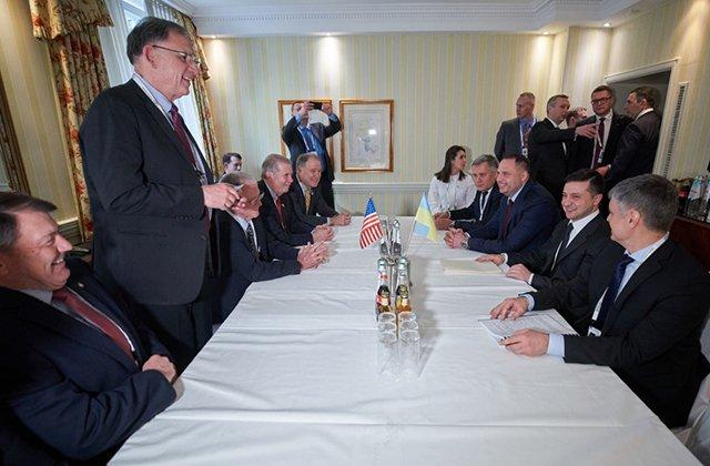 Зеленский выразил Конгрессу США благодарность за поддержку Украины в сфере безопасности