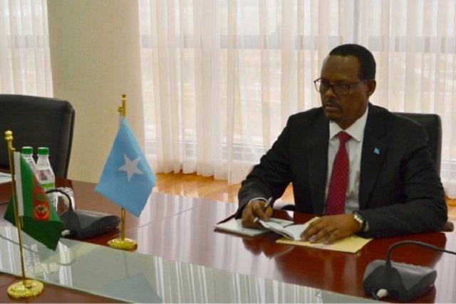 В Туркменистане приступил к своим обязанностям новый посол Сомали