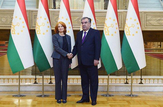 Рахмон обсудил дальнейшее партнёрство между Таджикистаном и Международной финансовой корпорацией