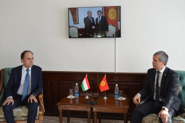 Вице-премьеры Киргизии и Таджикистана провели переговоры по приграничным вопросам