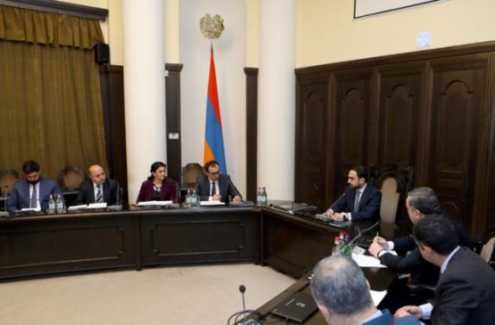 В Армении обсудили меры по предупреждению распространения коронавируса